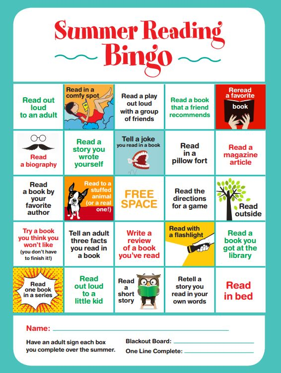 scholastic_summer_reading_bingo
