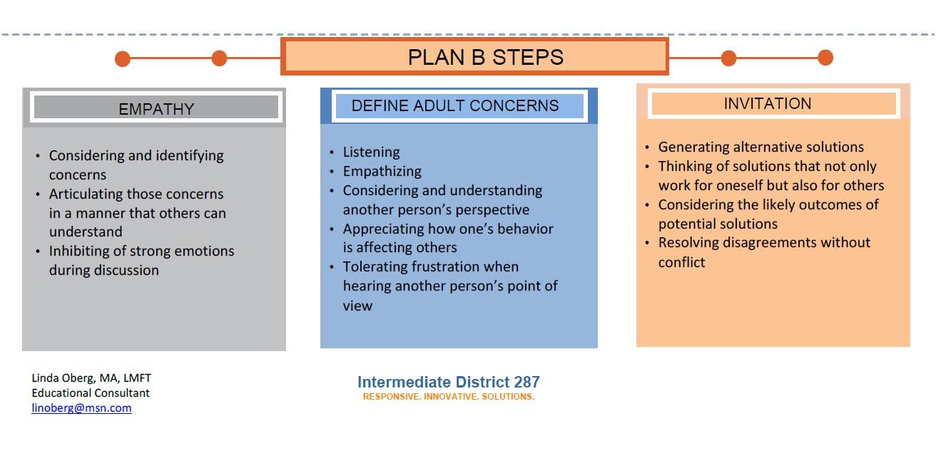 Plan B Steps